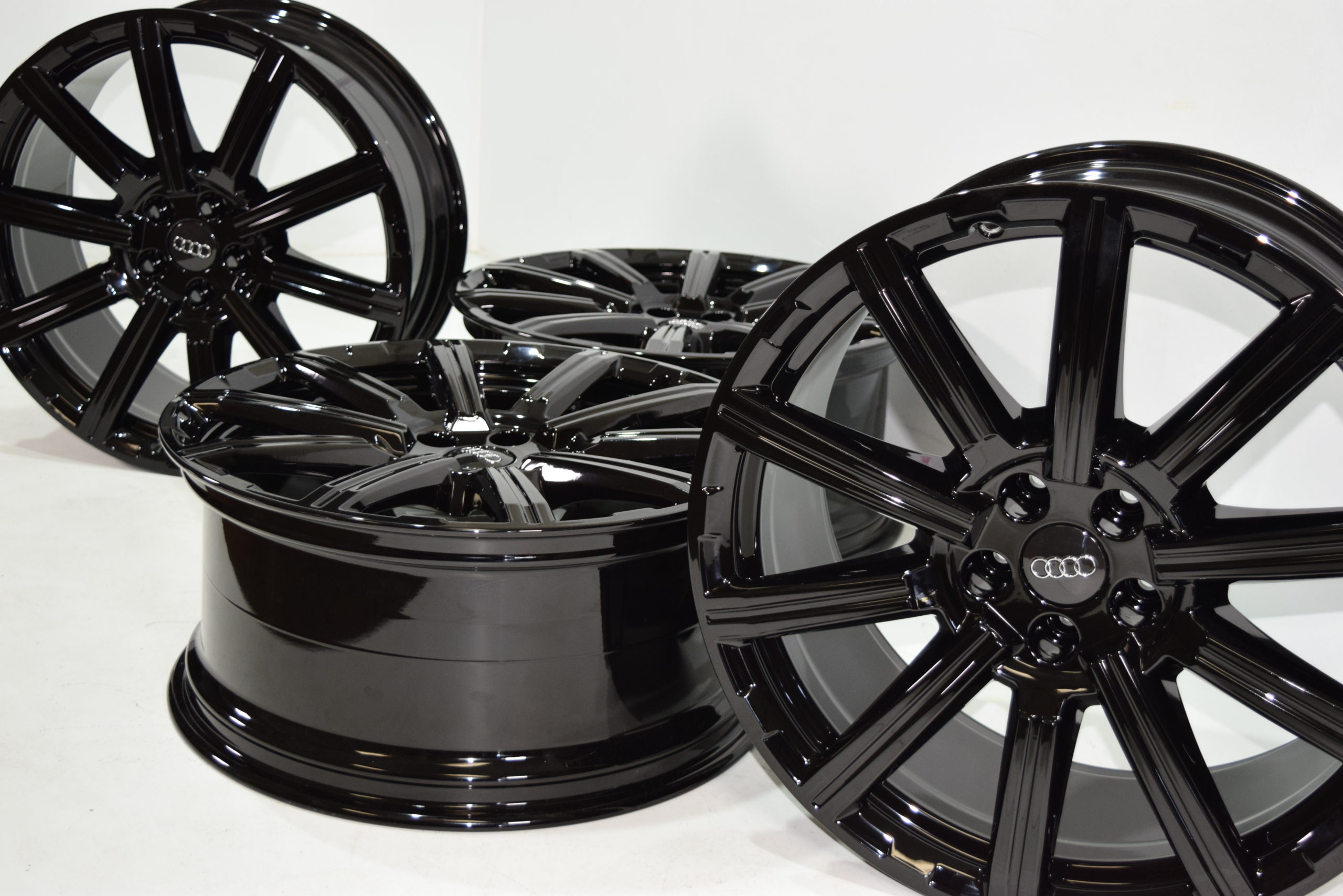 20″ AUDI Q7 FACTORY OEM ORIGINAL WHEELS BLACK 2015-2020