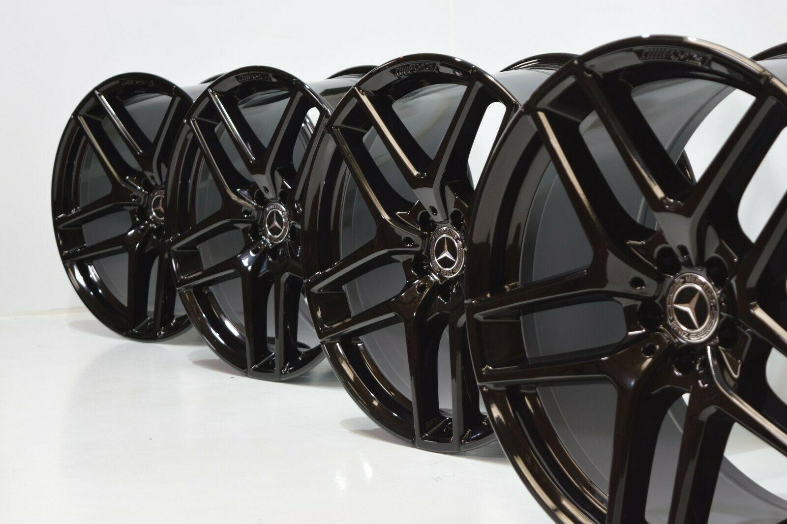 21″ Mercedes GLE Coupe Factory AMG Wheels OEM Rims GLE63 GLE450 21 Black GLE43