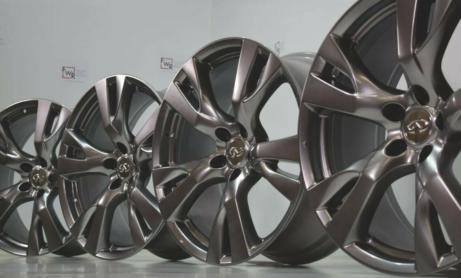 20″ Infiniti Q70 M56 M37 Factory OEM Rims Wheels M37s Q70s Q70L HYPER SILVER Q50