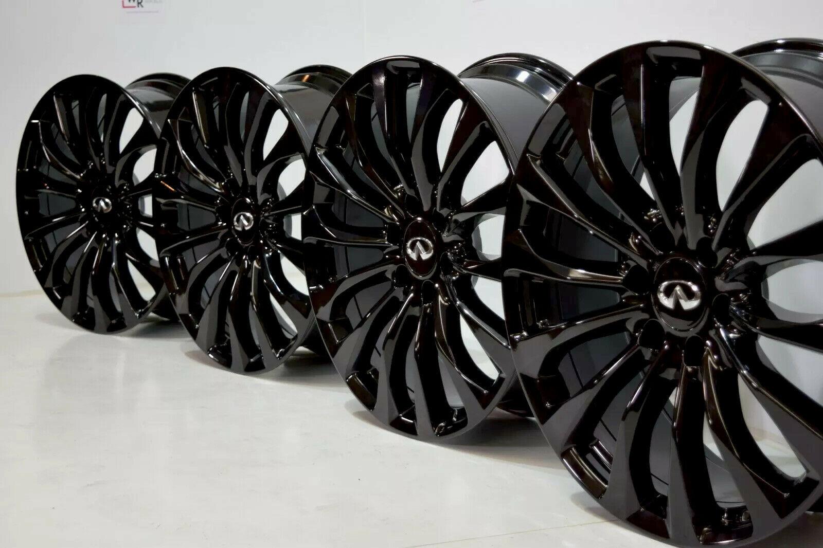 """22"""" Infiniti QX80 QX56 OEM Wheels Rims 22×8 22 D03001A70C 73771"""