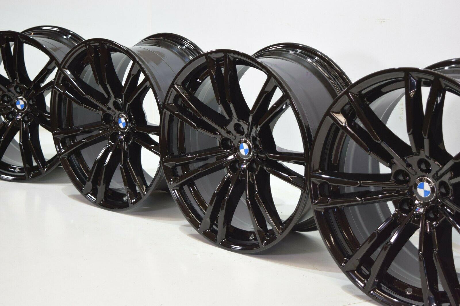 BMW OEM G90 M5 2018+ 706M 20″ M Double Spoke Wheels Black Set Of 4