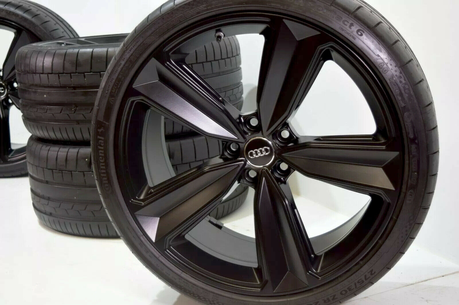 "20"" Audi RS5 S5 A5 Factory OEM Wheels Rims tires black 2019 Genuine"