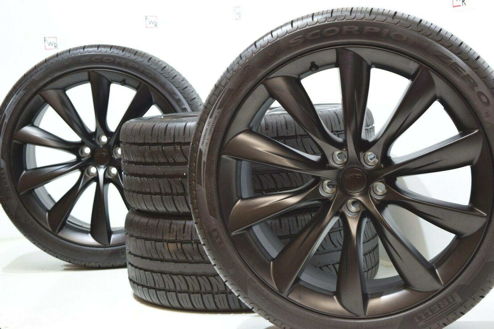 22″ Tesla Model X oem wheels and tires
