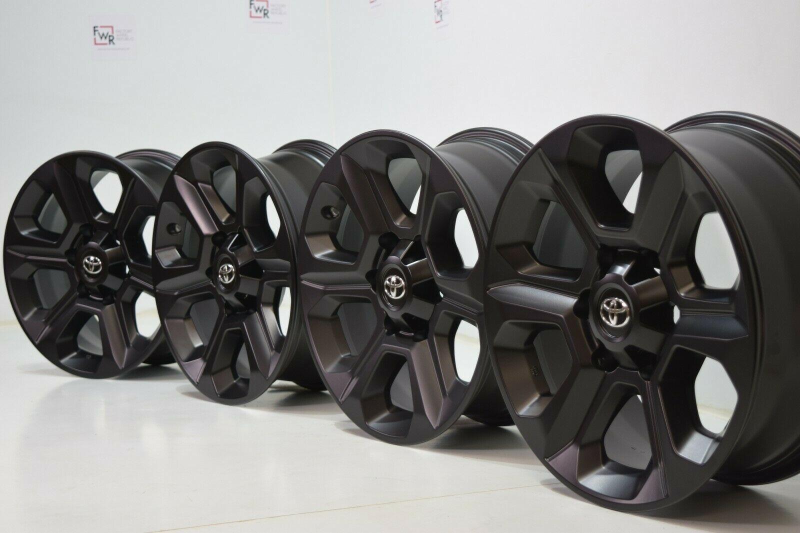 17″ Toyota 4Runner Tacoma  Black Factory Alloy Rims wheels 75153