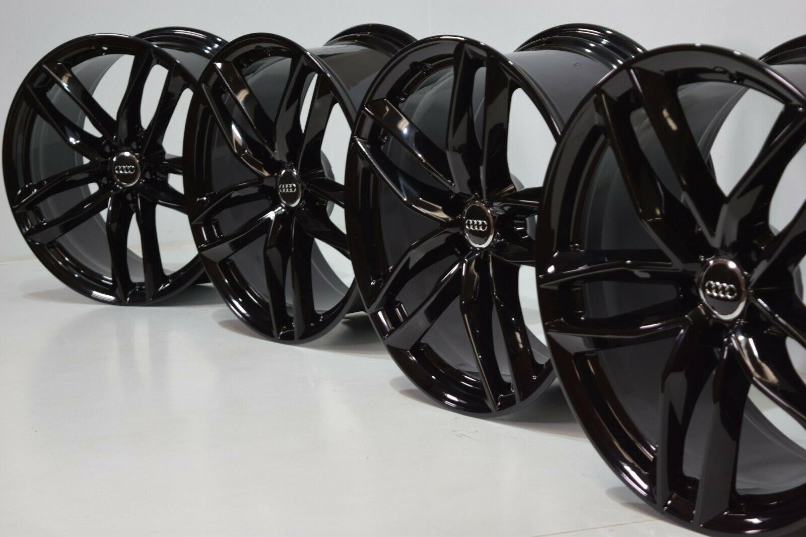 "20"" Audi A8 A7 S8 S7  FACTORY OEM WHEELS RIMS  Black"