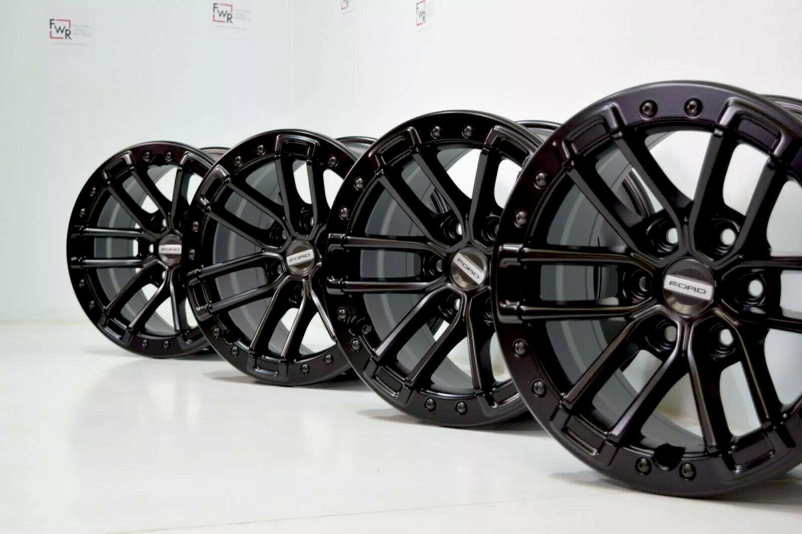 17″ Ford F-150 Raptor BEADLOCK 2019 2020 Black 17 Factory OEM rims F150 Wheels