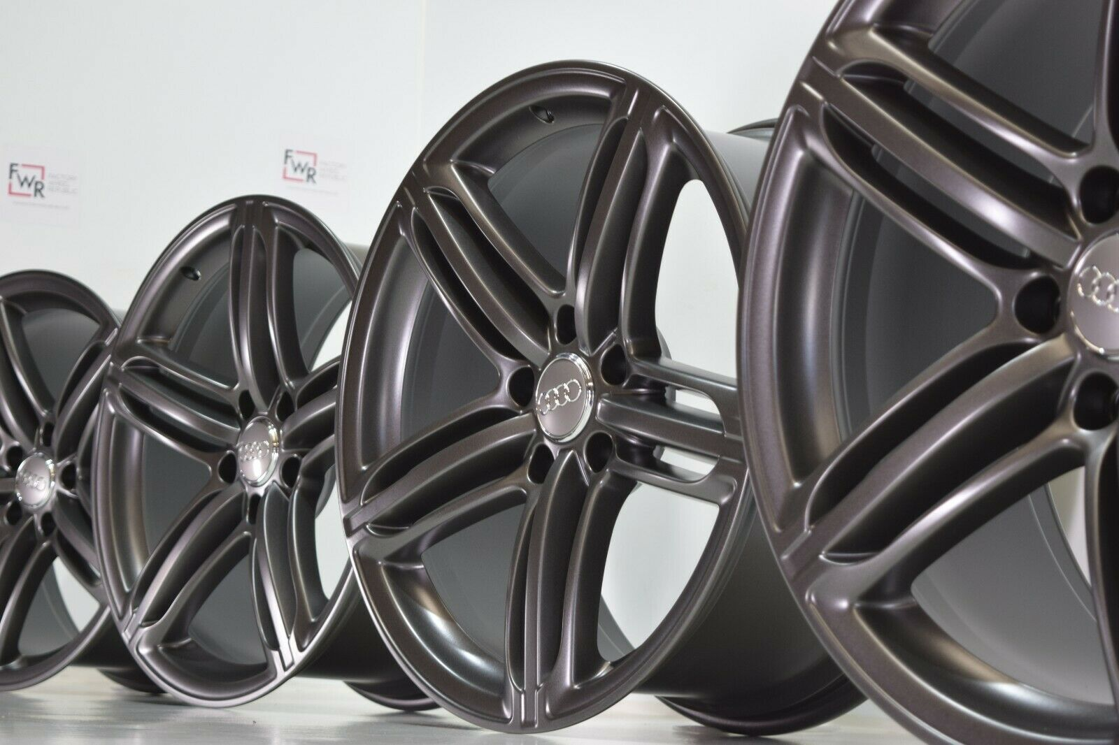 21 AUDI Q7 2011 2012 2013 2014 2015 Titanium Gray Factory OEM Wheels Rims 58886