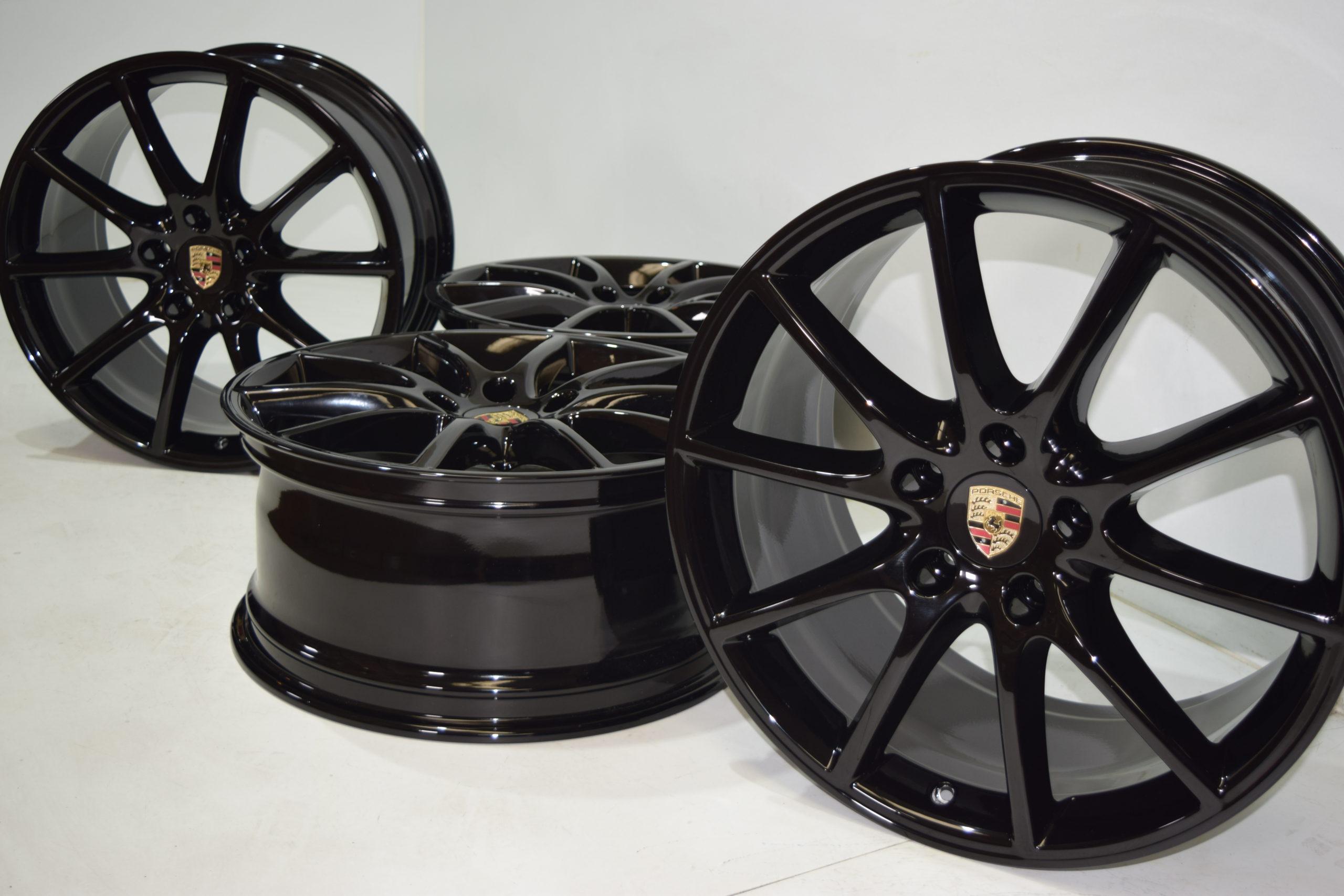 20″ PORSCHE CAYENNE 2019 2020 2021 Factory OEM original wheels rims black 20