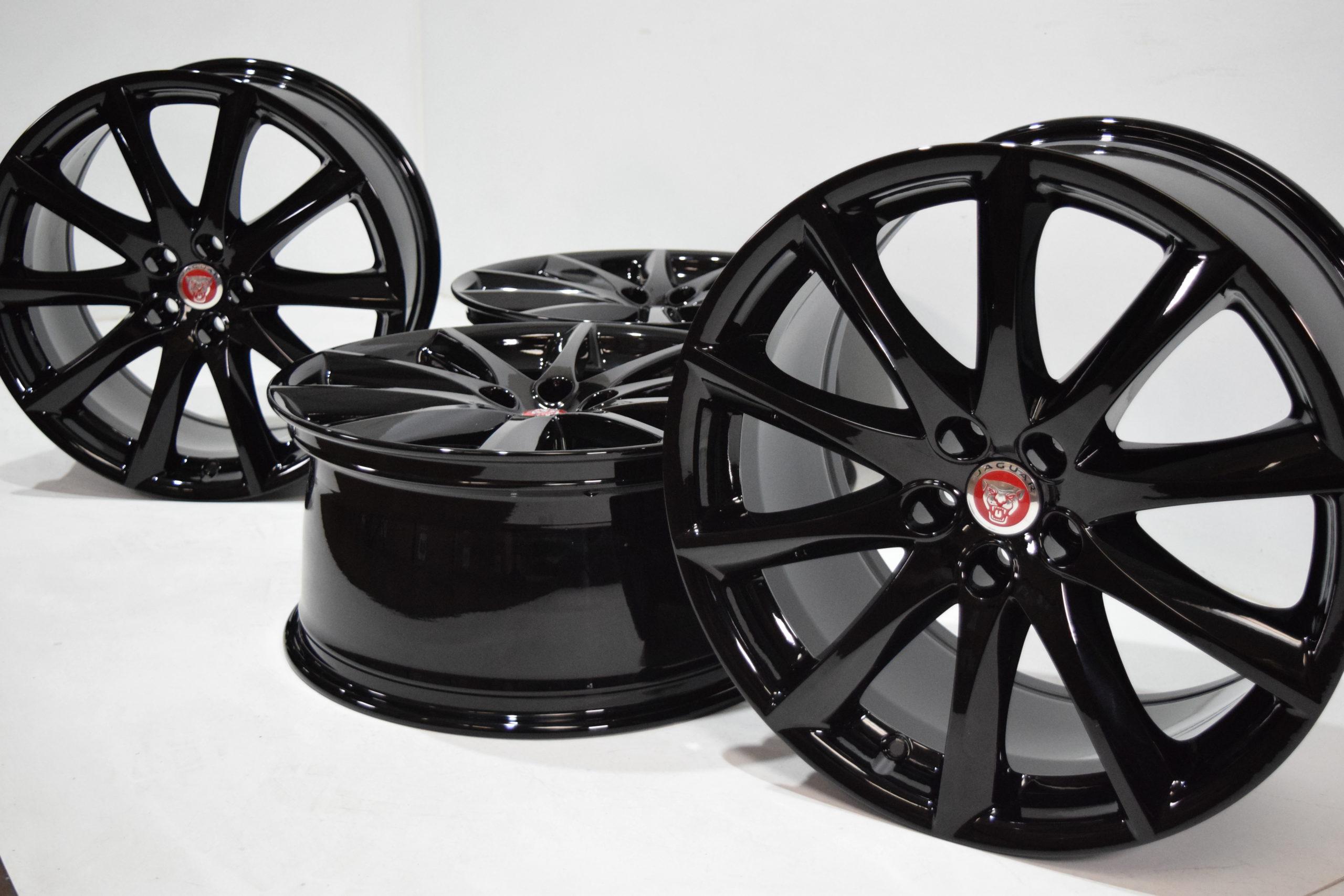 19″ JAGUAR XJ XJL GENUINE FACTORY OEM RIMS BLACK 19 inch