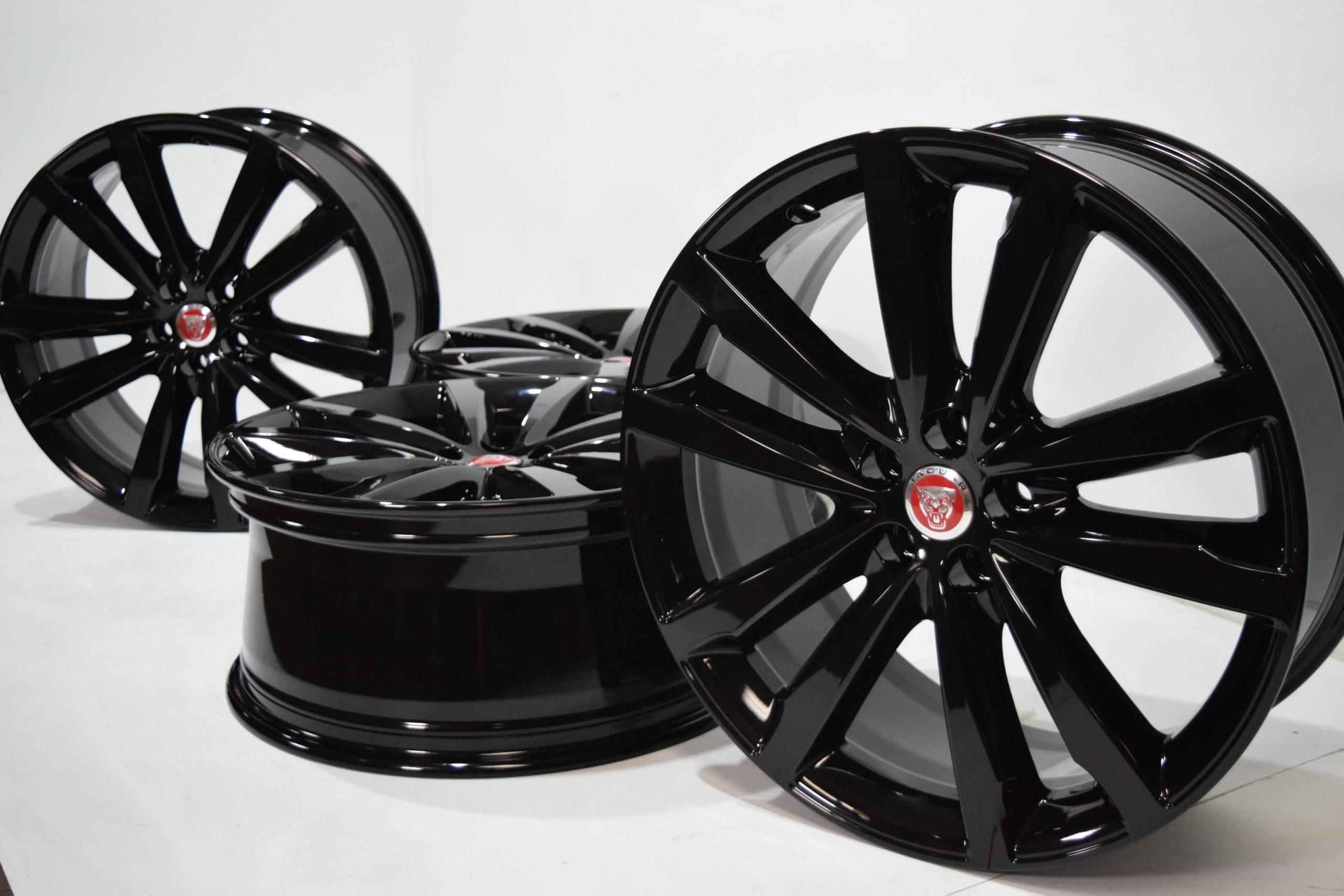20″ Jaguar F-Pace XF XE Factory OEM Black T2H5947 Venom  Rims