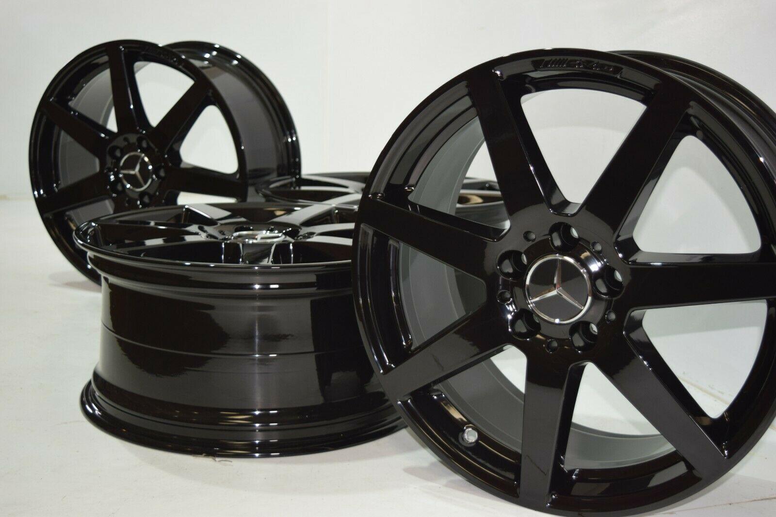 18″ Mercedes Benz C250 C300 C350 AMG Factory OEM Wheels Rims 85223 85224