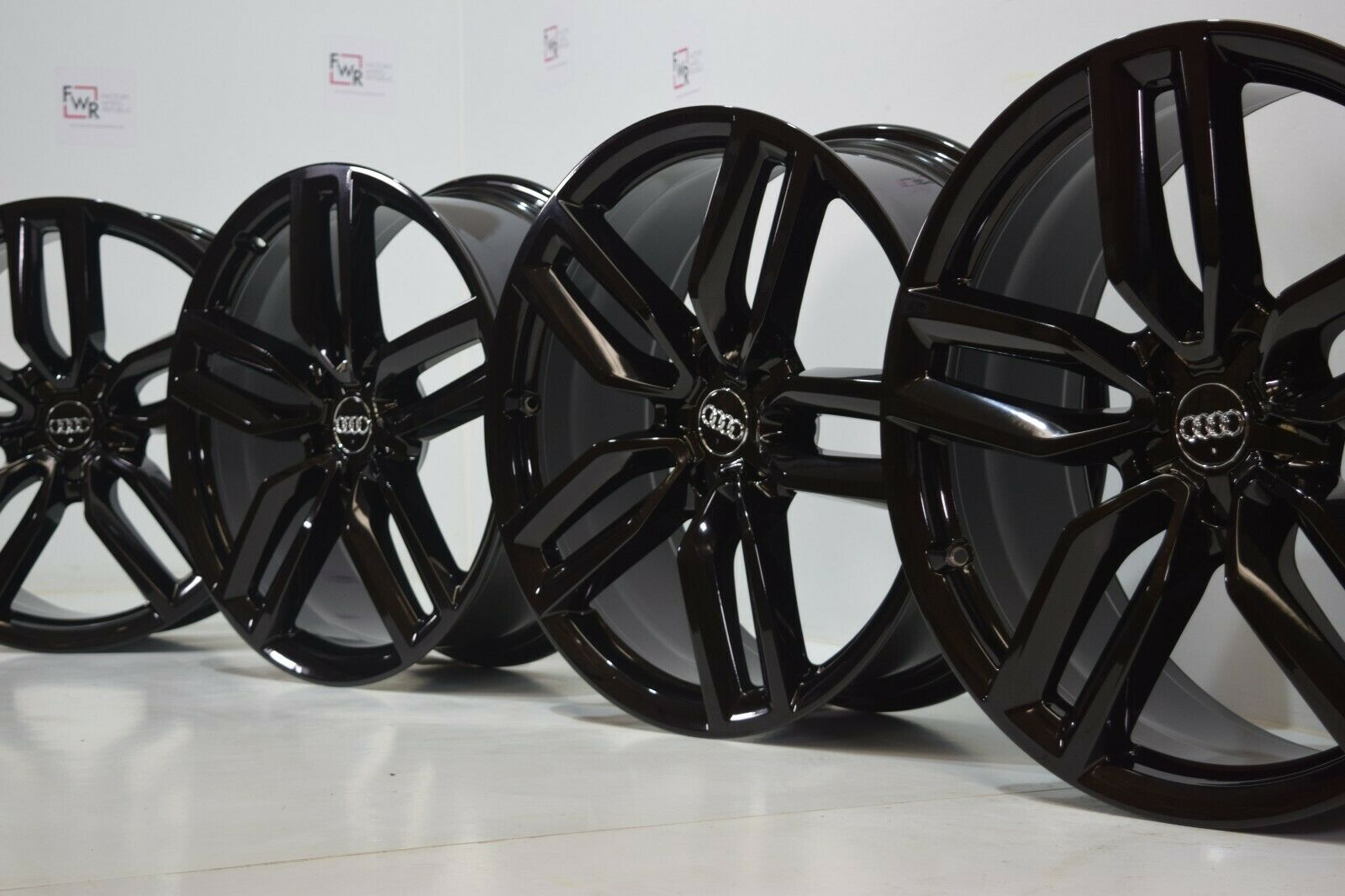 21″ AUDI Q5 SQ5 FACTORY OEM  RIMS ORIGINAL S6 A7 S7 20 A8 S8 BLACK