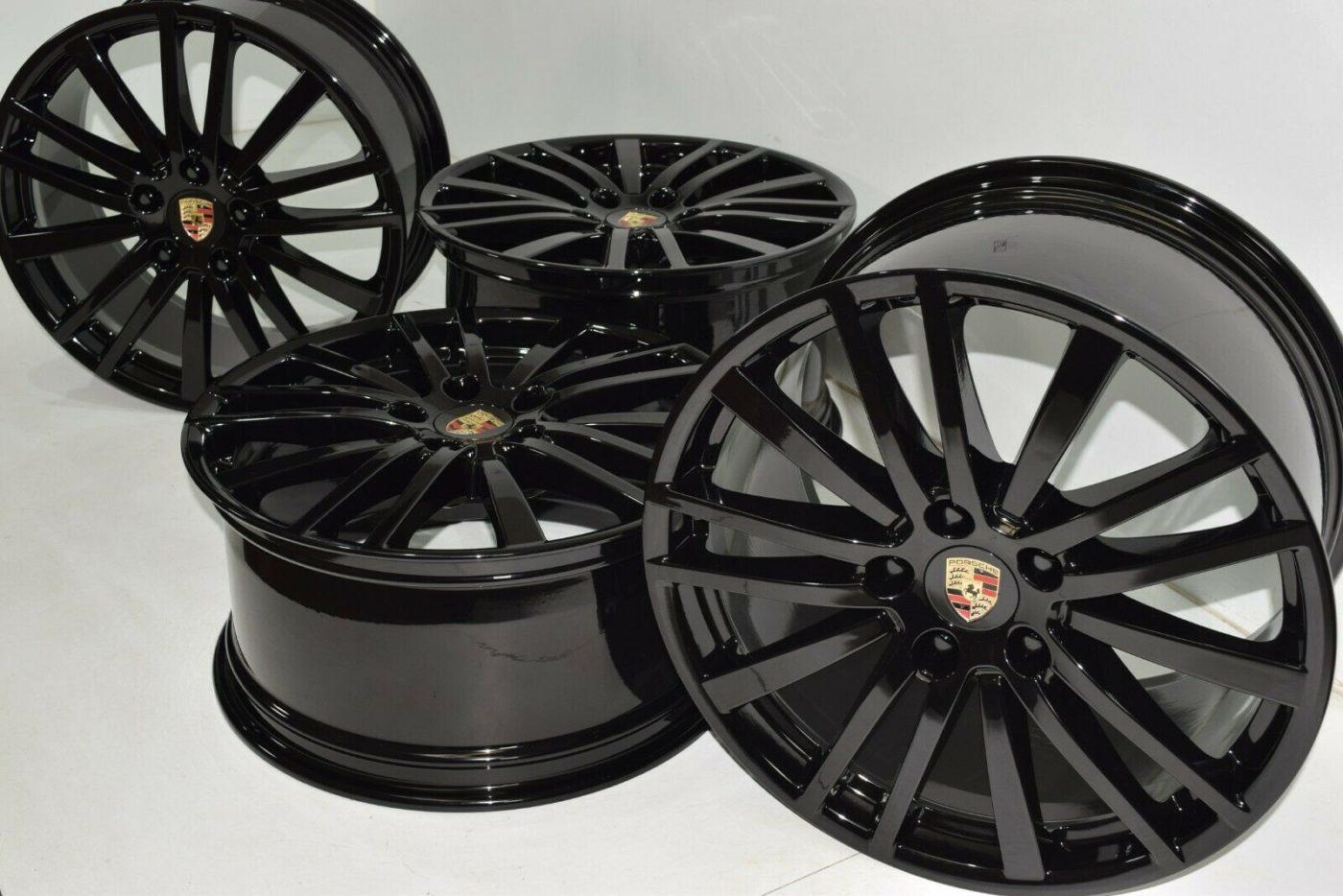 20″ Porsche Panamera Factory OEM Wheels Rims 2018 2019 2020 67498 67499