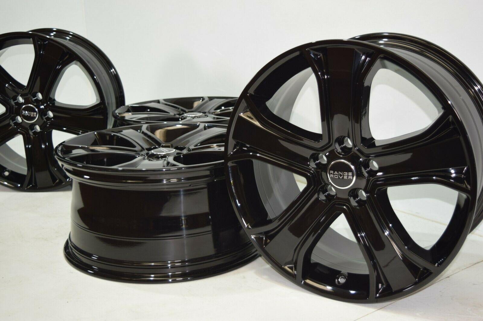 20″ Range Rover Sport 2006-2013 LR4 Factory OEM 20″ Wheels Rims Gloss Black