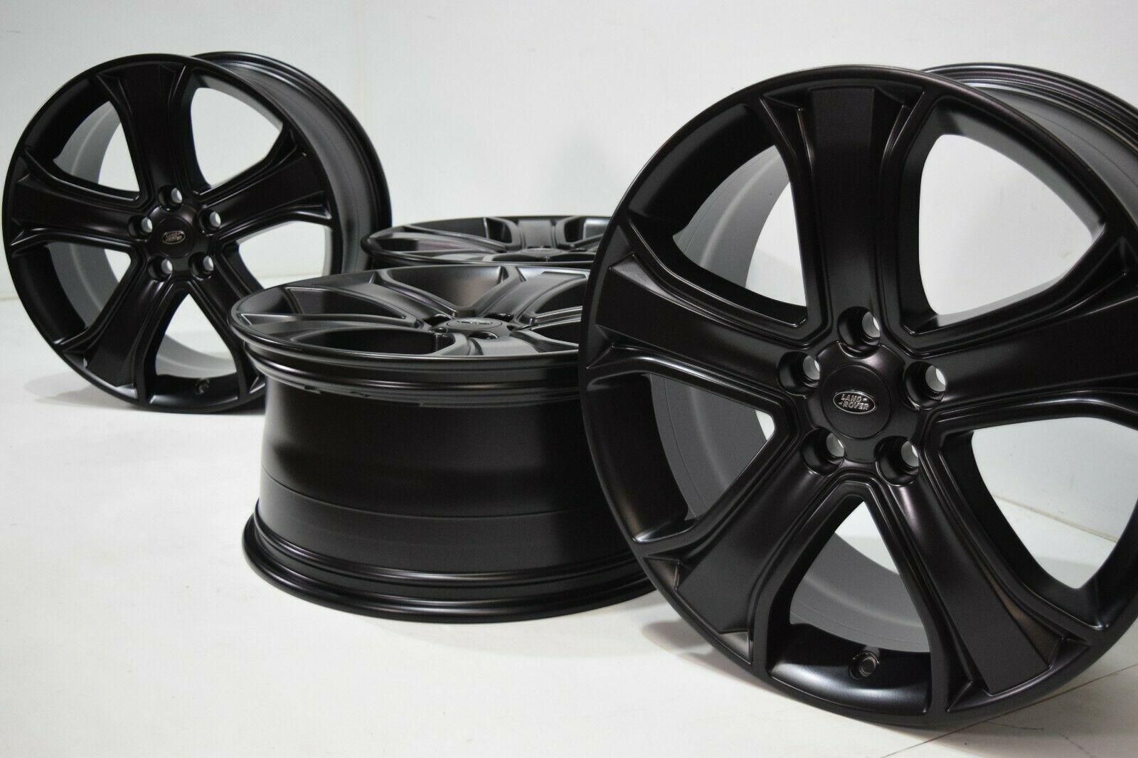 20″ Range Rover Sport 2006-2013 LR4 Factory OEM 20″ Wheels Rims Satin Black