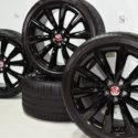 20″ Jaguar F-Type SVR 2020 2021 Factory OEM original wheels &  tires