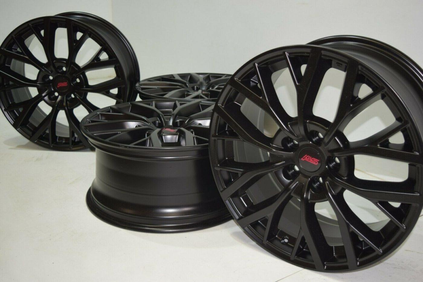 "19"" Subaru Sti Factory OEM satin black rims"