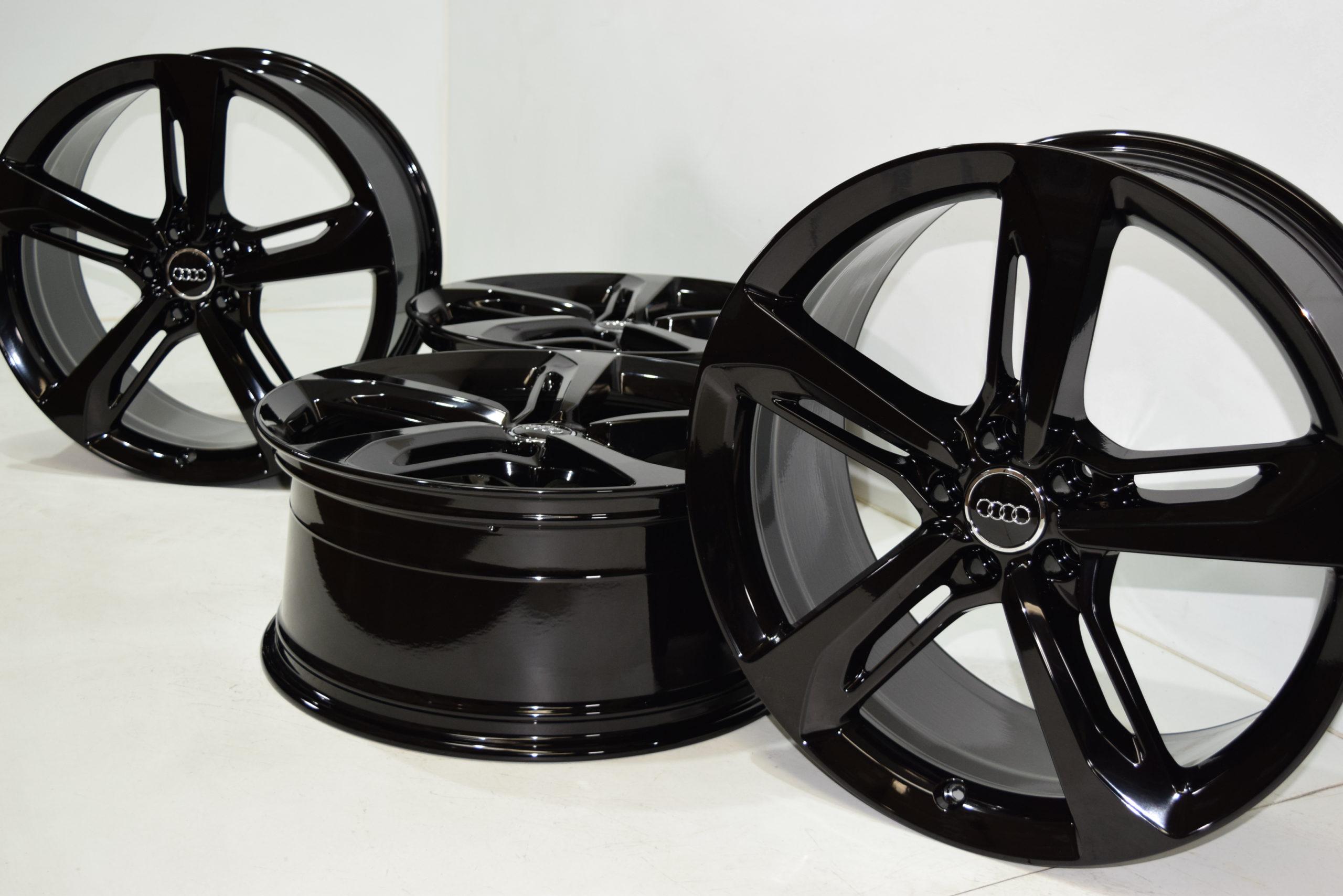 """21"""" AUDI RS7 S7 A7 A8 S8 Factory OEM wheels rims 21×9 BLACK 58939"""