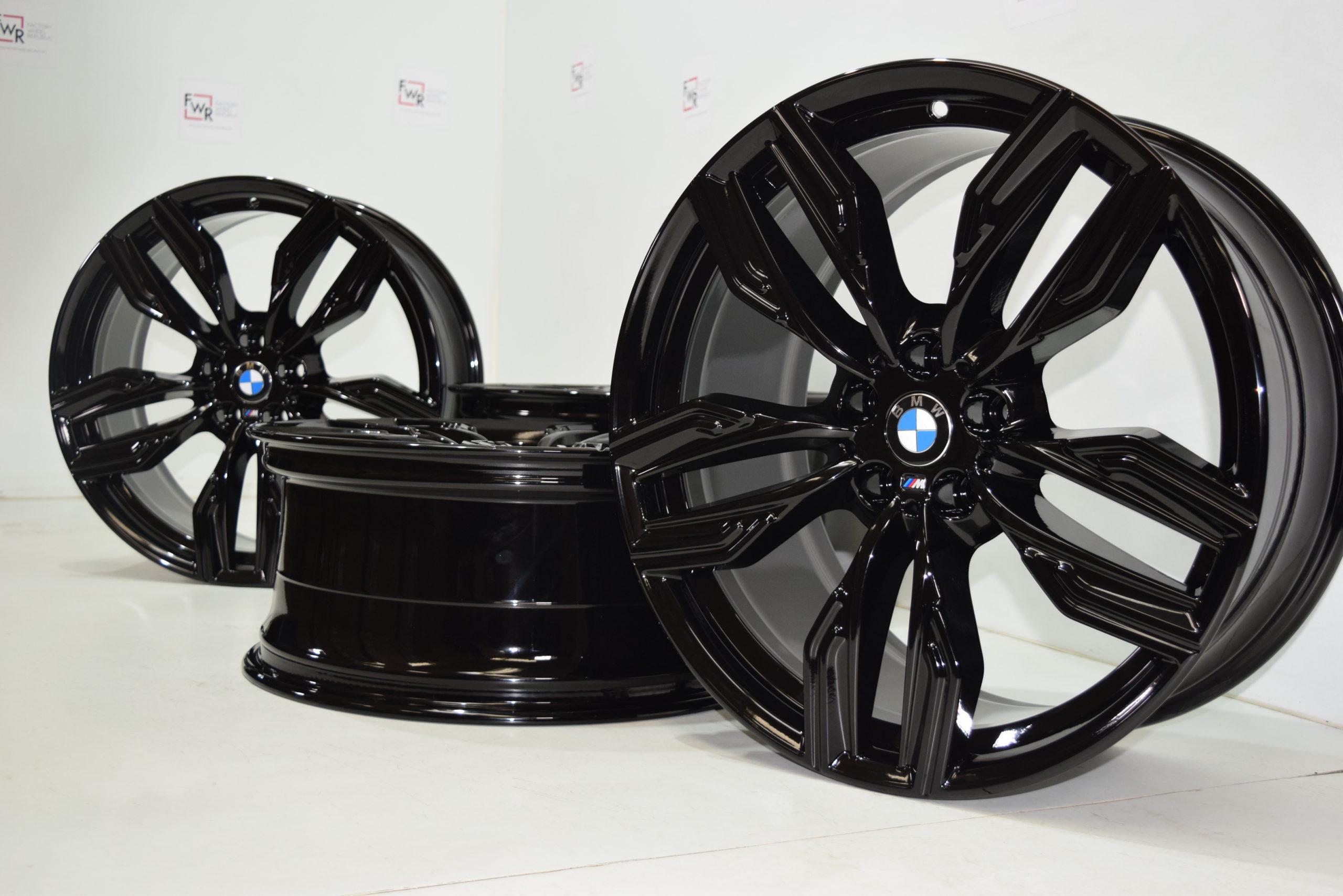 20″ BMW 750i 740i 760i G11 G12 760M rims black 20 inch 2015 -2021